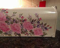 Hand Painted Mailbox Custom Painted Artistic Creative