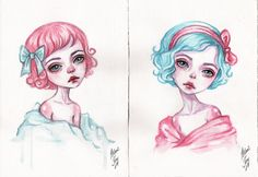 girls by BlackFurya
