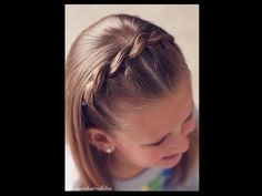 How to: Pull Through Braided Headband - Brown Haired Bliss - YouTube