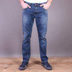 Niebieskie spodnie jeans Dickies Louisiana Stonewash - slim fit / www.brandsplanet.pl / #dickies streetwear