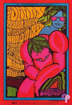 Doors at Fillmore Auditorium 11/16/67 Winterland 11/17-18/67 by Jim Blashfield