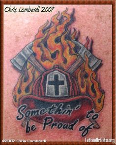 Firefighter's Pride - Tattoo Artists.org