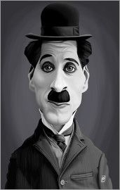 Rob Snow | caricatures - Charlie Chaplin