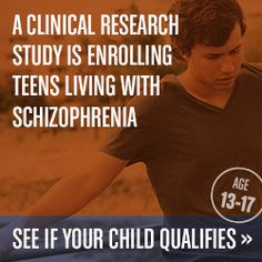 Is your teen exhibiting symptoms of schizophrenia? A global research study is now enrolling teens 13-17. No insurance needed. http://teenschizophrenia.com/126.htm