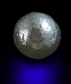 Diamond (7.82 carat spherical Ballas crystal) from Paraguassu River District, Bahia, Brazil
