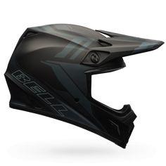 Barricade Matte Black Bell MX 2017 MX-9 MIPS Motocross Off Road Bike Helmet