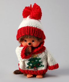 THIS Monchhichi is killing me.