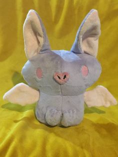 A personal favorite from my Etsy shop https://www.etsy.com/listing/275698424/bat-plush
