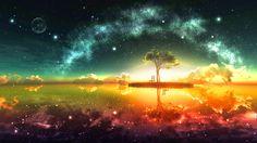 Dreamscape: Parallel dimensions.