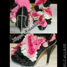 High Heel Centerpiece