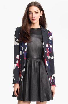 Diane von Furstenberg Stretch Silk Blazer available at Nordstrom