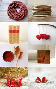 Sweet golden red!!! by Nataliia Malik on Etsy--Pinned with TreasuryPin.com