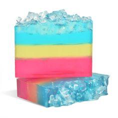 Snow Cone Soap Loaf - WholesaleSuppliesPlus--melt & pour