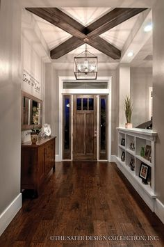 27 Welcoming Rustic Entryway Decorating Ideas That Every Guest Will Love Need More Kitchen Decorating Ideas? Go to Centophobe.com Gallery Wall, Rustic Country Homes, Frame, Welcome Spring, Farmhouse Furniture, Entryway Decor, Home Decor, Home Remodeling, Master Bedroom