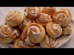 Kókuszos csiga Borbás Marcsitól - YouTube Share Pictures, Animated Gifs, Sendai, Doughnut, Make It Yourself, Awesome, Youtube, Desserts, Food