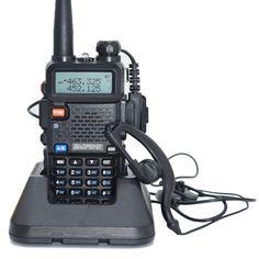 Baofeng UV-5R de Mano de Dos Vías Walkie Talkie de Radio De VHF UHF de Banda Dual Jamón CB Radio Station