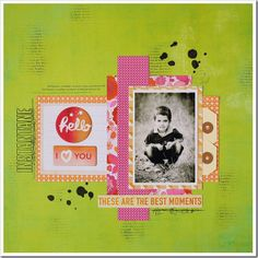 The Hip Kit Club Monthly Scrapbook Kit Club offers the best monthly Embellishment, Paper, Cardstock, Project Life and Color Scrapbook Kits! Scrapbook Pages, Scrapbooking, Scrapbook Layouts, Hip Kit Club, Mini Albums, Card Stock, Good Things, In This Moment, Create
