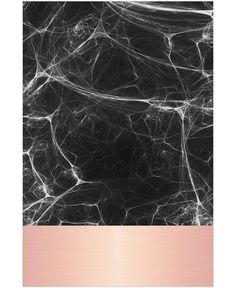 papier peint Black Marble Pink Edition - JUNIQE