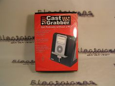 CastGrabber 1.0 Podcast Download Device for MP3 Players (Black/Grey) - http://www.electricwes.com/product/castgrabber-1-0-podcast-download-device-for-mp3-players-blackgrey/