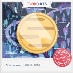 Ik heb het geestengoud gevonden in het Griezelwoud. Durf jij dat ook? - playtwo.do/ts #TwoDots