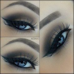 This looks beautiful with her blue eyes.