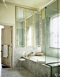 12 Glamorous Gray Bathroom Ideas Photos | Architectural Digest