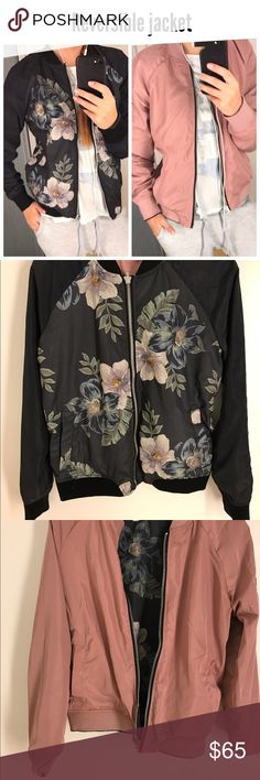 Reversible jacket ! NWT Brand new very stylish! ALL SALES ARE FINAL ! NO RETURN !! Jackets & Coats