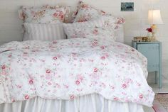 Lovely floral bedding
