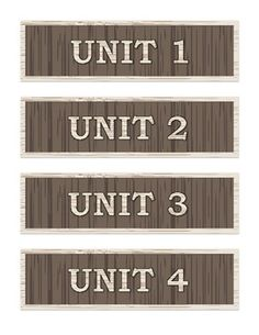 Secondary Classroom Labels - Wood Grain - Labels for the secondary classroom!  Includes a variety of classroom labels and unit labels.  $2