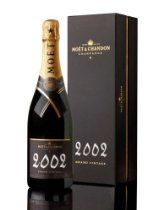 Moet & Chandon - 2002 - Brut Grand Vintage Champagne - 75cl Gift Boxed - 12.5% ABV  From Moet & Chandon