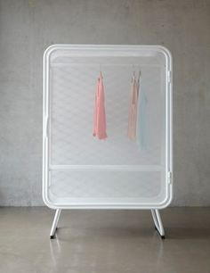 Harold is a minimalist design created by Netherlands-based designer Jesse Visser. A expanded metal cabinet that can be used as wardrobe as well as storage for offices. Metal Furniture, Home Furniture, Furniture Design, Unique Furniture, Furniture Ideas, Storage Shelves, Shelving, Expanded Metal, Interior And Exterior