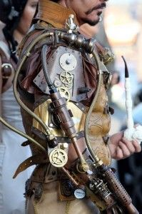 SteampunkOverlord. Perhaps how someone from Entreus's world, Oricta, would appear.