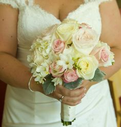 my beautiful bouquet - pink, peach, white
