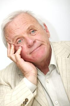 Sir Anthony Hopkins...too adorable!