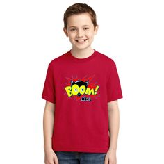 Owl Boom! Youth T-shirt