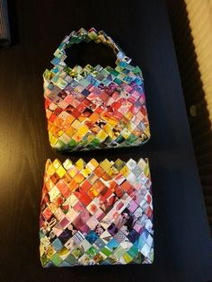 Candy wrapper bags
