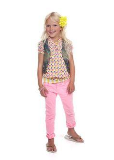 Kids wear Moodstreet SS13 Top: T30T4 Blouse: B53T4 Sweat: S48T4 Pants: P90T4