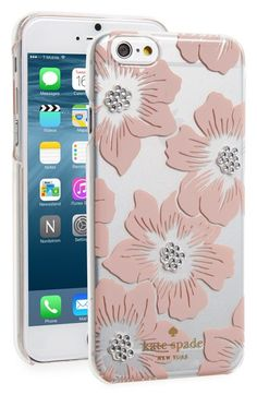 kate spade new york hollyhock iPhone 6/6s case available at #Nordstrom