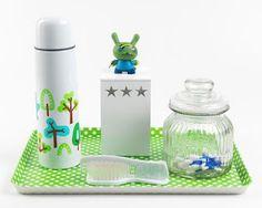 Kit higiene para bebês descolados.