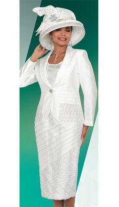 BM47622 -  229 Matching Hat -  179  White  FirstSunday  Gorgeous Sunday  Church 9e0f87afe70