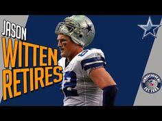 69f3b52be52 Jason Witten Retires from Dallas Cowboys | Jason Witten Retirement Thank  You Tribute