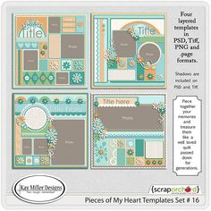 Pieces Of My Heart-16 by Kay Miller Designs