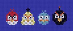 Angry Birds Cross Stitch, for my nephew