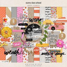 Sunny Days Ahead Digital Kit by paislee press