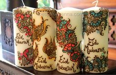 hennah design eid candles (she has non-eid designs too) https://www.facebook.com/photo.php?fbid=436087386428871=a.261315793906032.53490.210787495625529=1_count=1