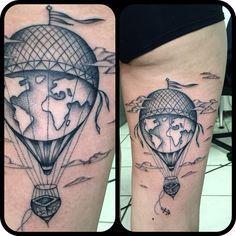 mongolfiera tattoo - Cerca con Google