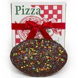 Sugar Plum Chocolates: Gourmet Milk/Dark Chocolate Pizza Premium Quality Delicious Chocolaty Flavor  Just Right For Any Occasion Or Holiday  A Scrumptious Treat  Makes a Memorable Gift special offer #wine #deal