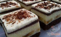 Banános álom (fotókkal) | TopReceptek.hu Food Porn, Tiramisu, Baking Recipes, Cheesecake, Deserts, Food And Drink, Yummy Food, Sweets, Snacks