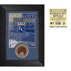 Kansas City Royals Infield Dirt Coin Mini Mint