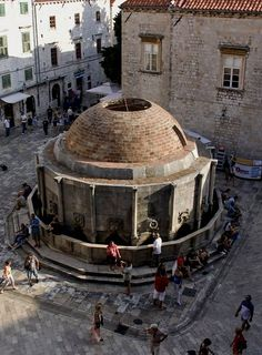 Large Onofrio's fountain -  Dubrovnik Old Town, Croatia | by Pedro Fernández López
